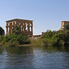 View of Philae Temple from the Nile