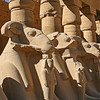 Avenue of the Sphinxes at Karnak Temple at Thebes.