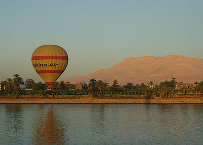 Egypt Nile and Temples