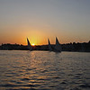 Sundown along Nile