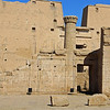 Edfu Temple..associated with Horus associated with the god Apollo.  This temple was believe to have been built around 237 BC.