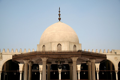 Inner Courtyard - Mosque of Amr ibn al-As, Cairo