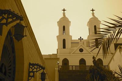 Courtyard - Hanging Church, Cairo