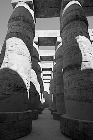 Hall of Columns - Karnak Temple, Luxor