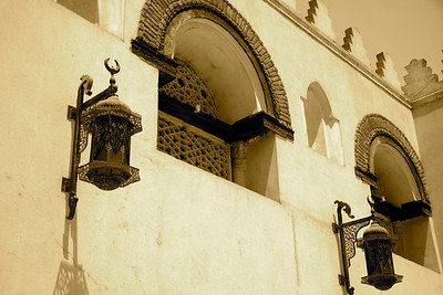 Outer Lamps - Mosque of Amr ibn al-As, Cairo