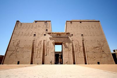 Entrance - Edfu Temple, Edfu