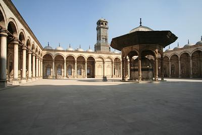 Courtyard - Muhammad Ali Pasha Mosque, Citadel of Salahuddin, Cairo