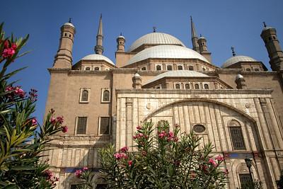 Garden entrance - Muhammad Ali Pasha Mosque, Citadel of Salahuddin, Cairo