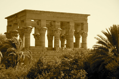 Hypostyle Hall - Temple of Isis, Aswan