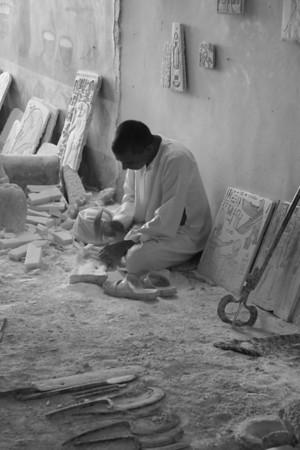 Artisan - Morrsey Alabaster Factory, Luxor