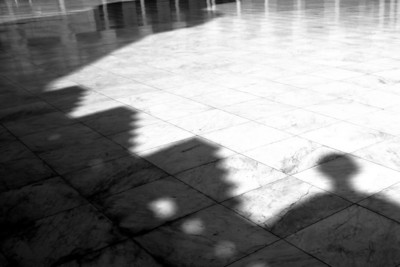 Courtyard Shadows - Al-Azhar Mosque, Cairo