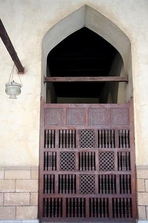 Wood Barrier - Al-Azhar Mosque, Cairo