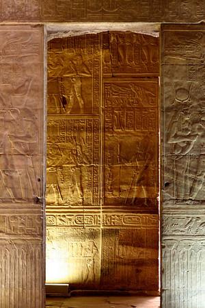 Inner Doorway - Edfu Temple, Edfu