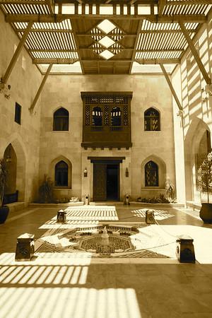 Inner Courtyard - Al-Azhar Park, Cairo