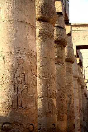 Column row - Luxor Temple, Luxor