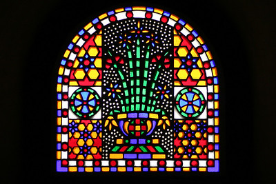 Stained Glass - Hanging Church, Cairo