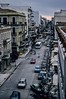 A busy street scene in Patras, Greece. <br /> Photo © Carl Clark