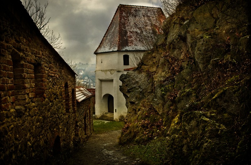 Detail from the Veste Oberhaus fortress above Passau, Germany.<br /> © Cindy Clark