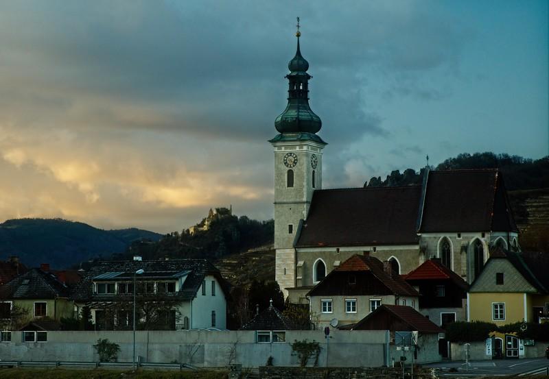 An old church, Wachau Valley, Austria.<br /> © Cindy Clark