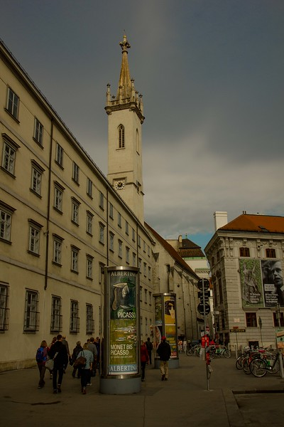 The arts are everywhere in Vienna.<br /> Photo © Carl Clark