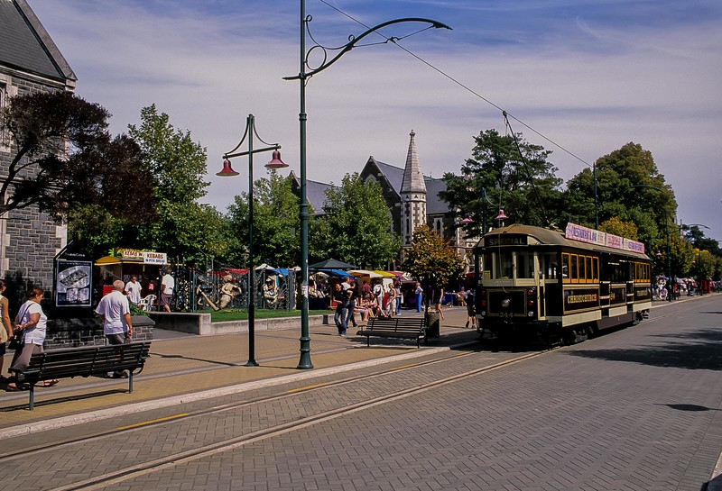 A pleasant afternoon in Christchurch, New Zealand. <br /> Photo © Carl Clark