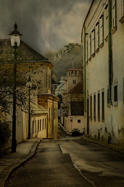 To work off some jetlag, we took a short walk from our boat to this absurdly quaint town of Kahlenbergerdorf, Austria.<br /> © Cindy Clark