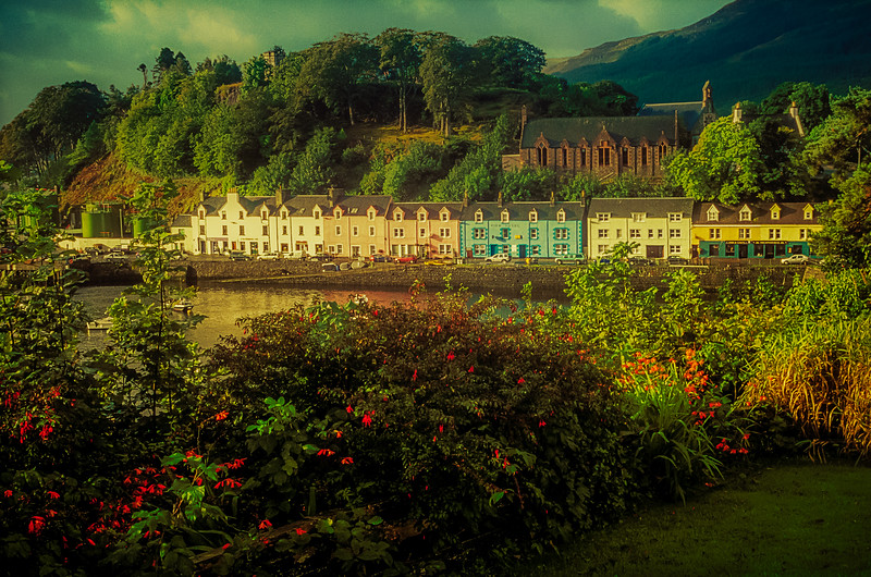 Lovely morning in Portree, Scotland.<br /> Photo © Cindy Clark