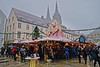 Winter warming in Regensburg, Germany.<br /> Photo © Carl Clark