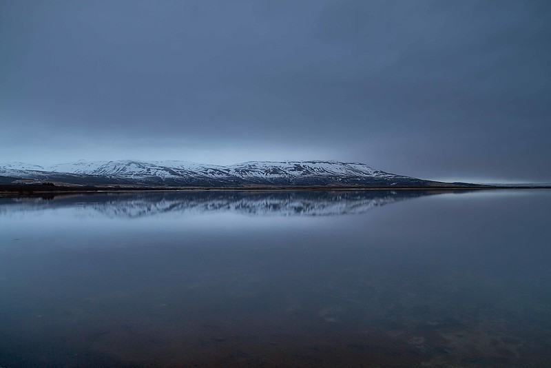 A moody evening on the lake at Laugarvatn.<br /> Photo © Carl Clark