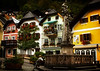 Town center in storybook Hallstatt.<br /> Photo © Cindy Clark