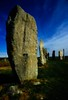 The Callanish standing stones on the Isle of Lewis, Scotland. <br /> Photo © Carl Clark