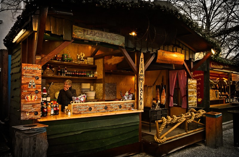 Christmas Market, Passau, Germany.<br /> © Cindy Clark