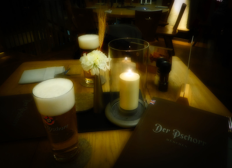 Close to our hotel, this place had a huge menu & great beer.  We went there twice!