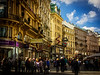 We had beautiful weather in October and Vienna was bustling!<br /> Photo © Cindy Clark