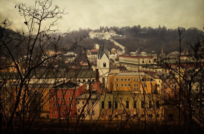 View of Passau, Germany.<br /> © Cindy Clark
