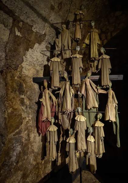 From the Marionette Museum at the Salzburg Fortress.<br /> Photo © Cindy Clark