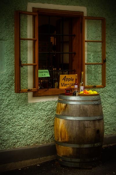 A charming shop in Hallstatt, Austria.<br /> Photo © Cindy Clark