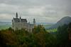 The much visited Neuschwanstein Castle in Bavaria.<br /> Photo © Carl Clark