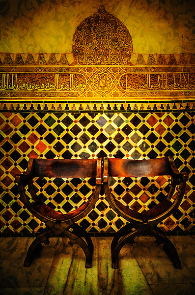 More from the Alhambra in Granada, Spain.<br /> Photo © Cindy Clark