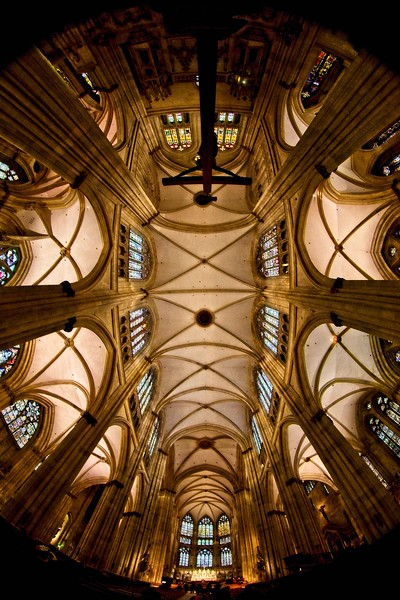 St. Peter cathedral in Regensburg, Germany.<br /> Photo © Carl Clark