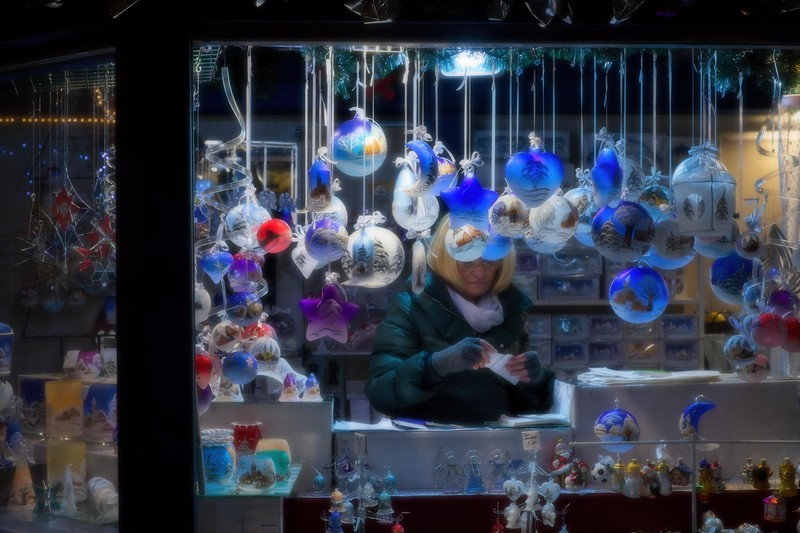 Christmas Market, Linz, Austria..<br /> © Cindy Clark
