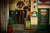 Join us for a beer? Quaint corner in Vienna.<br /> © Cindy Clark
