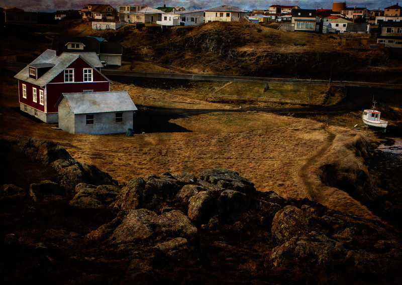 Stykkishólmur is the largest village on the Snæfellsnes penninsula. <br /> Photo © Cindy Clark