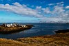 A fine afternoon in the Vesturland town of Stykkishólmur.<br /> Photo © Carl Clark