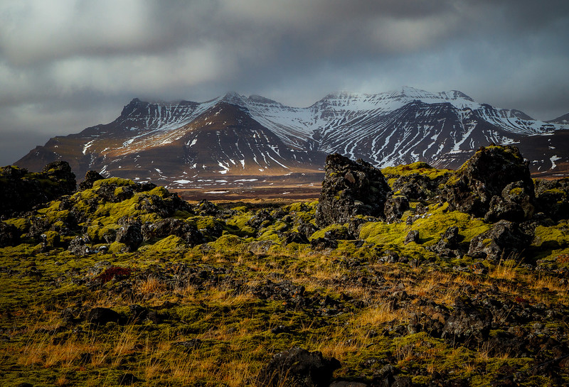 A reminder of how this island of Iceland was created.  It sits directly over the mid-Atlantic rift and has over 100 active and extinct volcanoes.  <br /> Photo © Cindy Clark