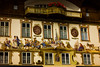 Oberrammergau is famous for its frescoes depicting Bavarian scenes.<br /> Photo © Cindy Clark
