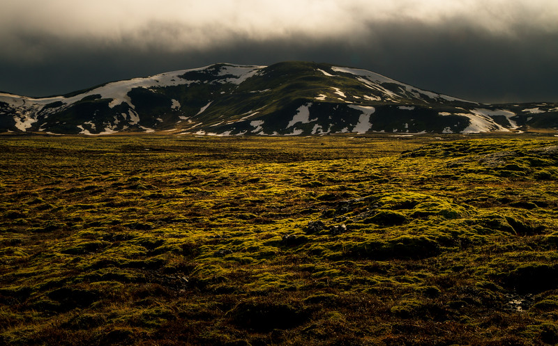 To get a better look at this amazing scene we took a side road while we were travelling east of Reykjavik. <br /> Photo © Cindy Clark
