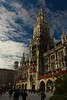 The new Town Hall (Neues Rathaus) in Marienplatz in Munich.<br /> Photo © Carl Clark