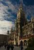 The new Town Hall (Neues Rathaus) in Marienplatz in Munich.<br /> Photo © Carl Clark