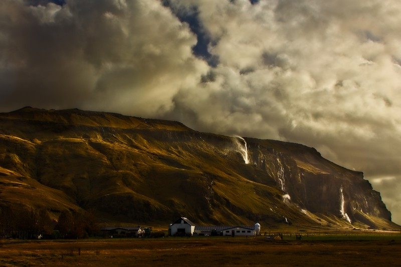 More dramatic lighting in Iceland.<br /> Photo © Cindy Clark